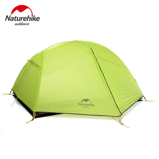 2 Person Double Layer 4 Season Camping Tent Barraca Beach Tent With Snow Skirt
