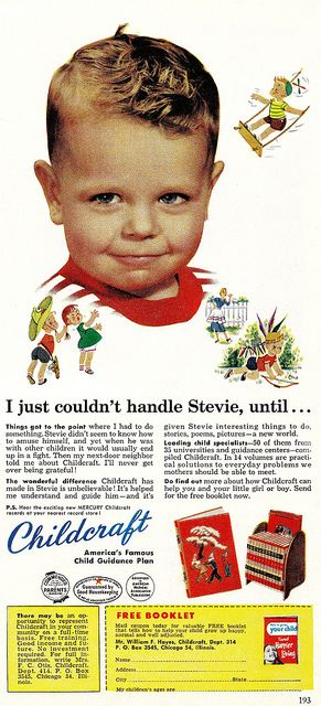 Retro advertising....for Childcraft...by saltycotton