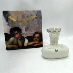 Mini melek biblo. Love angels Ölçüler: 4 cm x 4 cm