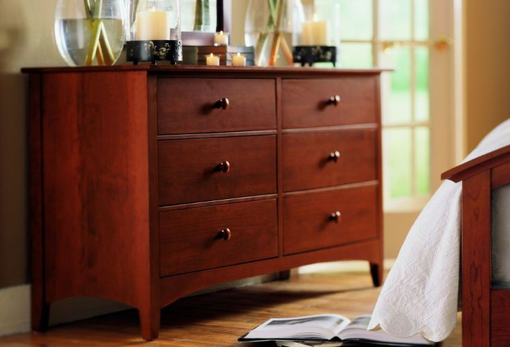 Bedroom With Cherry Wood Dresser : Kind Of Wood That Best For Dresser