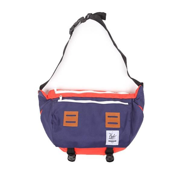 CUB TRAVELER Messenger Red Navy, Special Feature: Unique design and big compartement, Spesification: Dimension: 30 x 20 x 15 cm, Material: High Quality Cordura + inner lining torin water repellent, Large Main Compartment, 1 zippered pront pocket + 1 back pocket, Padded Shoulder Straps, Near-back quick access pocket, Reinforced Waterproof Bottom, For INFO & ORDER check out our BOARD, #backpackerindonesia #brand #backpack #bags #localbrand #tasransel #travelbag #tas #indotravelers