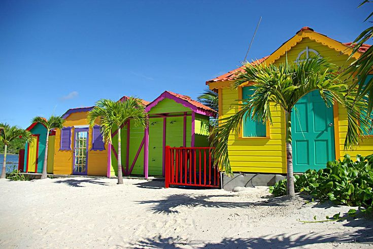 Colorful Caribbean Houses Bing Images Color Color