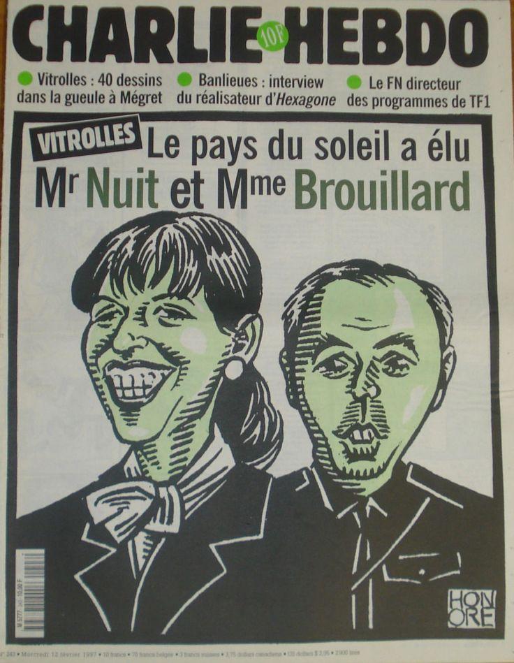 Charlie Hebdo - # 243 - 12 Février 1997 - Couverture : Honoré