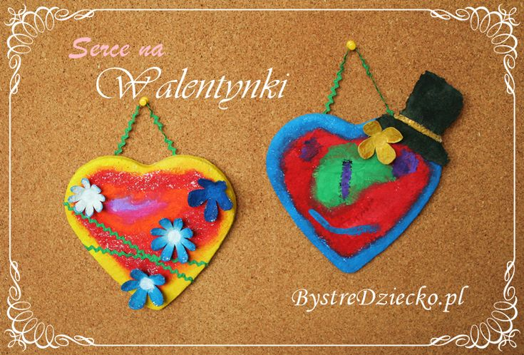 DIY papier mache heart, crafts for kids