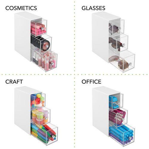 3 Drawer Plastic Vertical Kitchen Storage Organizer With Images