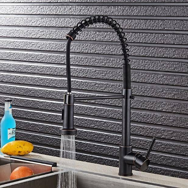Orb Kitchen Faucet Pull Down Orb Kitchen Mixer Sink Faucet Pull Out Brushed Taps For Kitchen Lad 79 In 2020 Kitchen Faucet Kitchen Faucets Pull Down Black Kitchen Taps