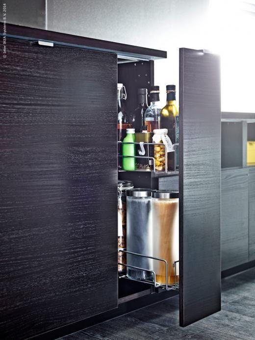 Idee Deco Chambre Bebe Rouge : Kökslucka TINGSRYD, UTRUSTA utdragbar köksskåpsinredning  Kök
