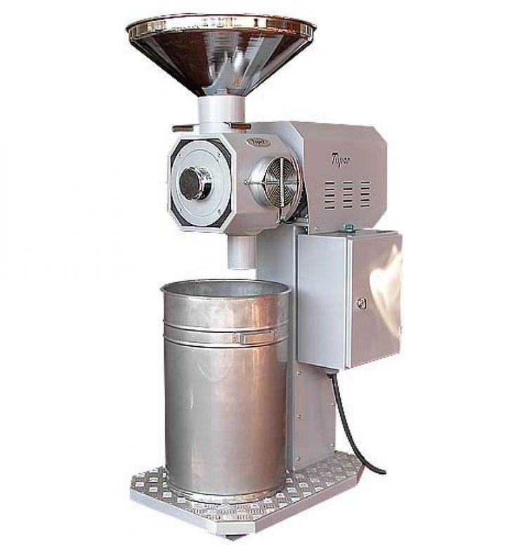 industrielle Kaffeemühle, industrial coffee grinder. Toper