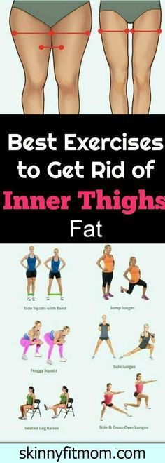 Gym & Entraînement Description 8 Exercise That Will Burn Inner Thigh Fat, These exercises will help you to get rid fat below body and burn the upper and inner thigh fat Fast.