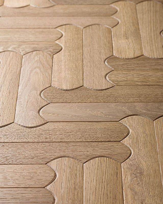Interlocking woodwork.