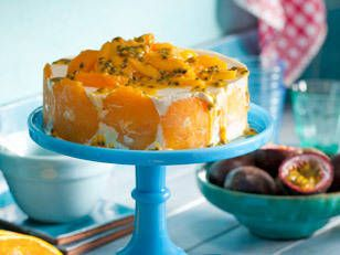Citrus semifreddo with mango and passionfruit: The taste of summer dances through this refreshingly zesty semifreddo. Not a fan of passionfruit? Try a sweet raspberry coulis, instead.
