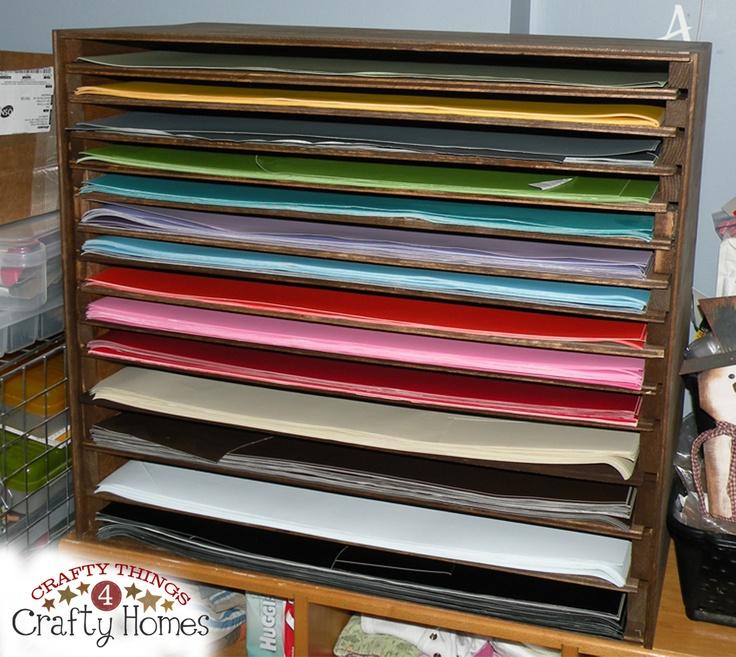 Diy Craft Vinyl Storage Ideas Crafting