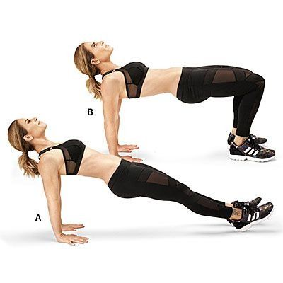 Table hop: Jillian Michaels shares her 7-move fat-blasting circuit workout.