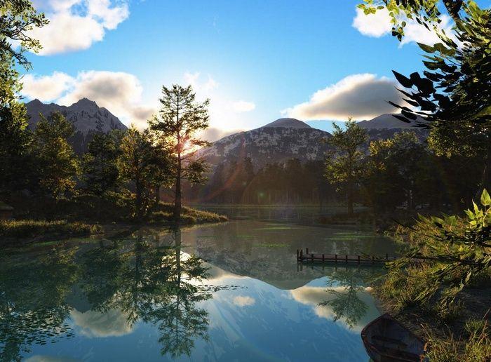 Mountains Landscape Nature Lake Reflection Wallpaper Scenery Beautiful Nature Beautiful Landscapes
