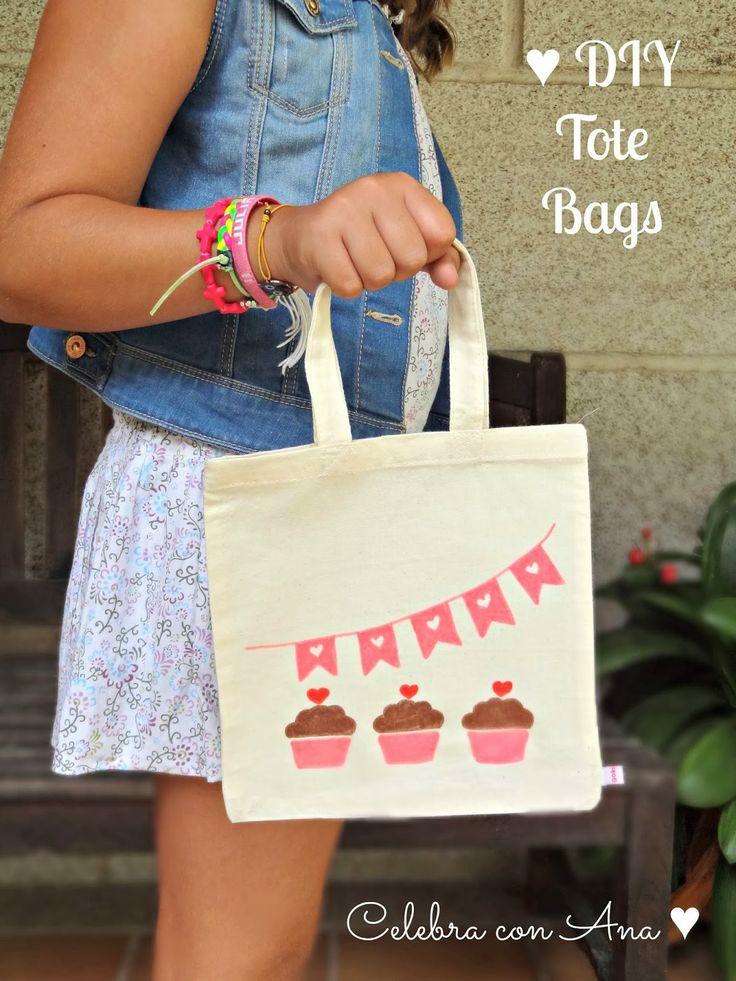 M s de 1000 ideas sobre bolsas de dulces en pinterest - Bolsas para pintar ...