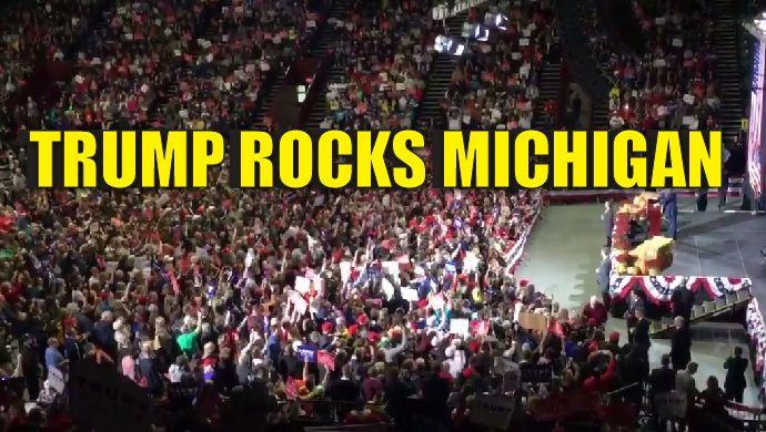 Trump rocks Michigan!