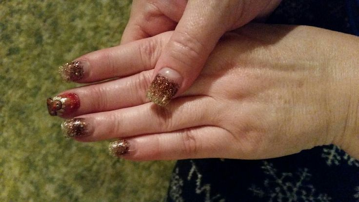 Thanksgiving nail design  Nov.2016