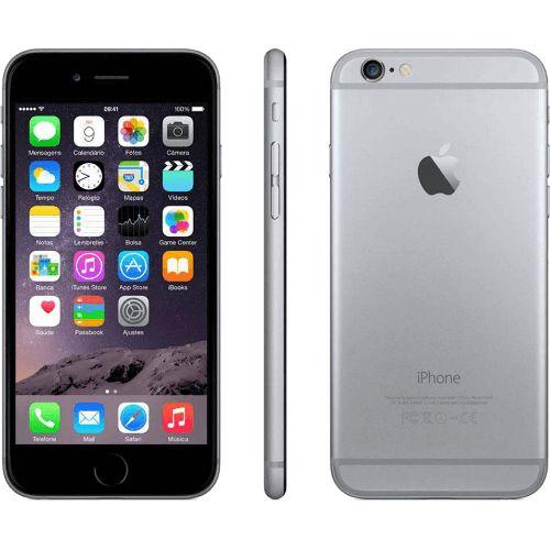 """iPhone 6 Plus 128GB Apple - Cinza Espacial - 4G LTE - Câmera de 8MP - Wi-Fi - GPS - Touch ID - 5.5"""" - iOS 8 Compre em oferta por R$ 2099.00 no Saldão da Informática disponível em até 6x de R$349,83. Por apenas 2099.00"""