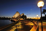 Lonely Planet Guide to Sydney.  Note to self...Must eat at Quay...
