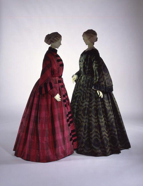 17 best images about 1850s women 39 s fashion on pinterest day dresses silk wedding dresses. Black Bedroom Furniture Sets. Home Design Ideas