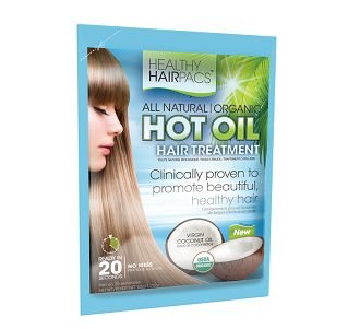 """Healthy Hairpacs Hot Oil Treatment - Coconut : """"Hot oil hair treatment"""" - it's a household term as millions have been doing it to improve their hair since the 1970's.  But so far, the choices have been very limited as we have had to use the single well-known (but unnatural & unproven) drugstore product. But, the hot oil hair treatment has finally evolved!"""