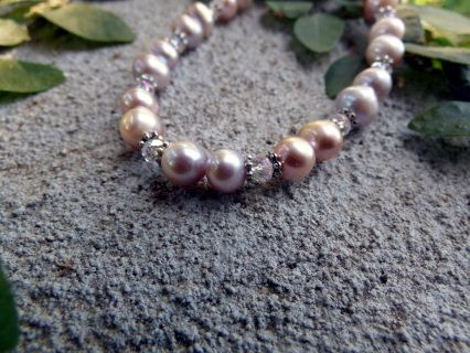 +Stretch++bracelet++made+with+A+grade++Freshwater+Pink+Pearls+with+Crystal+Tibetan++Silver+Beads+-+Potato+shape+5-8mm++Would+be+wonderful+for+bridesmaids+dressed+in+pink+or+blush.+Would++also+suit+navy+blue+outfits.+These+are+sold+as+a+set+of+3++BUDGET+BRIDAL++Would+also+suit+small+child+or+junior+bridesmaid+