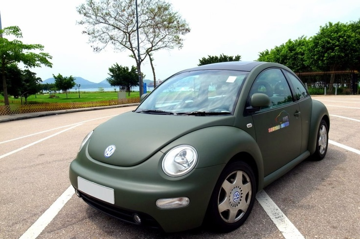 Auto Vinyl Wrap >> Matte green VW - vinyl wrap | TRUBLUTINT Vinyl Wrapping & Clear Vinyl Paint Protection ...