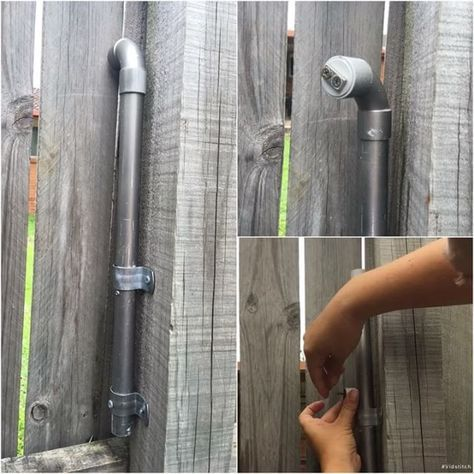 A super clever field puzzle where the top bend doubled as a magnet. You needed to use the magnet to drag the cache up from within the pipe. (eat.sleep.cache.repeat pic) #IBGCp