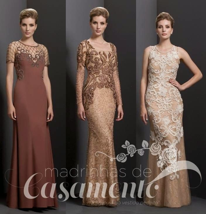 Madrinhas de casamento: Vestido de festa 2015: