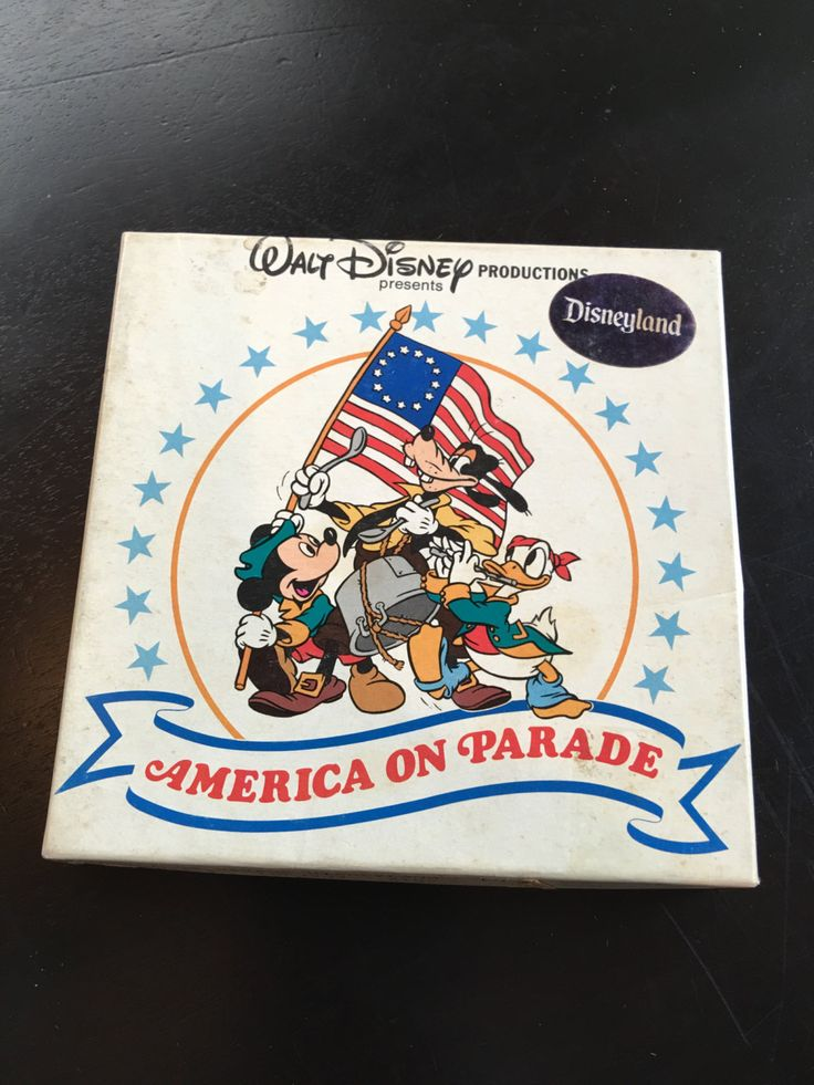 Vintage Disneyland America On Parade Reel Film by VintageDisneyana on Etsy