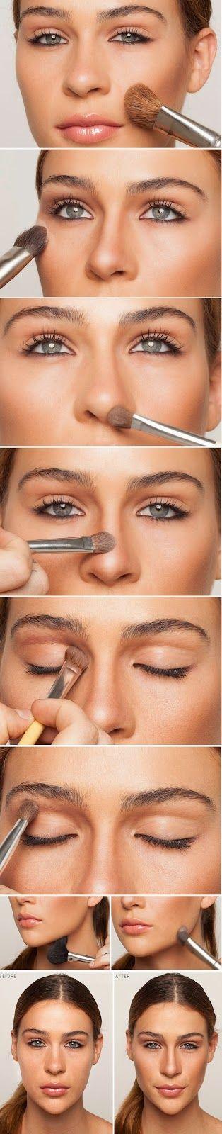 How to Contour : Basic Make-up Tutorials for Makeup Ideas