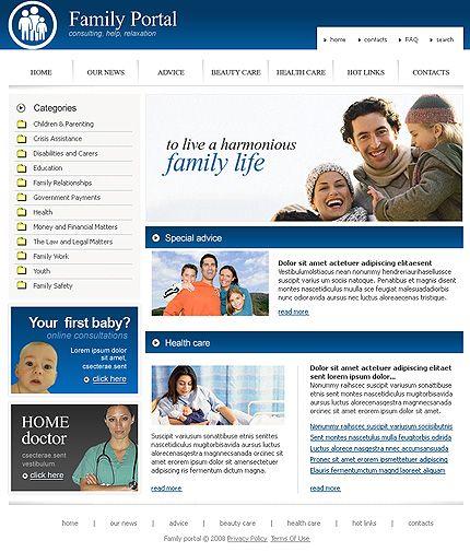 Family Portal SWiSH Templates by Di
