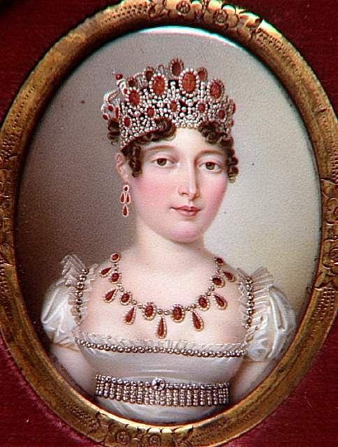 Caroline Murat by Salomon-Guillaume Counis after Nicolas-François Dun (Musée de la maison Bonaparte, Ajaccio Corsica France)