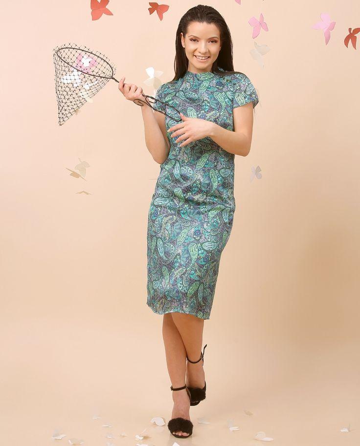 SILK Day & NIght SUMMER 17 | YOKKO #silk #dress #swarovski #women #fashion #colors #style #beauty #yokko