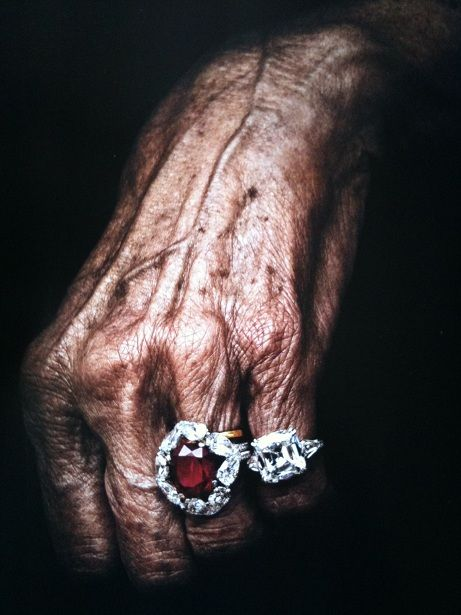Beautiful ! LOVE MAGAZINE: JEWELLERY SHOOT-David Morris rings on hands that have lived!