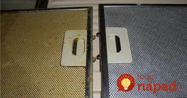 Filter digestoru dostáva pri každom varení poriadne zabrať. Para, mastnota a čiastočky tuku sa usádzajú v malých otvoroch a okrem toho, že už na pohľad pôsobia nevábne, znižujú aj samotnú funkčnosť zariadenia.