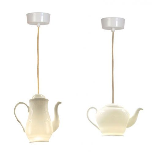 Tea Lighting by Original BTC Photo    Would really love to have something like this above my table as a light. they also make teacup lights similar to this! The trick will be convincing Brian