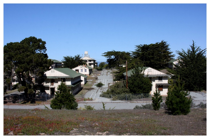 The now closed Fort Ord Army Post near Monterey Bay, California. The barracks that once housed thousands of troops for decades now lay in ruin waiting only for the bulldozer that will soon resign them to memory. More Prints At: http://www.aventineimages.com