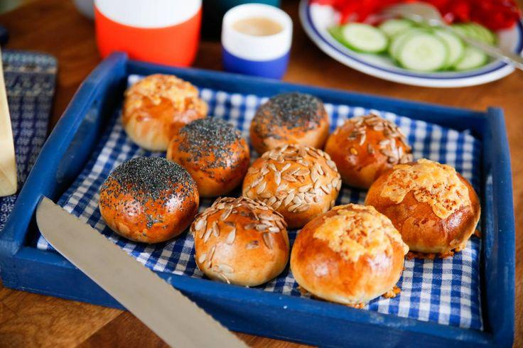 Bake off-bröd, perfekt att fylla frysen med bröd som du kan baka av till en mysfrukost!