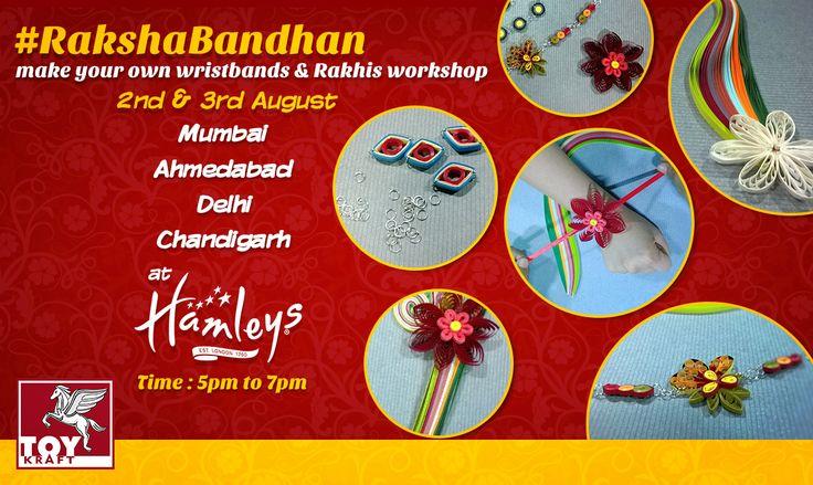 Rakhi Event Invitation at Hamleys