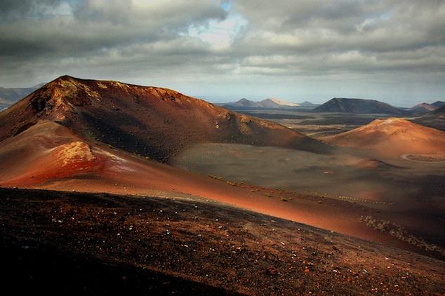 Lanzarote, isla volcánica