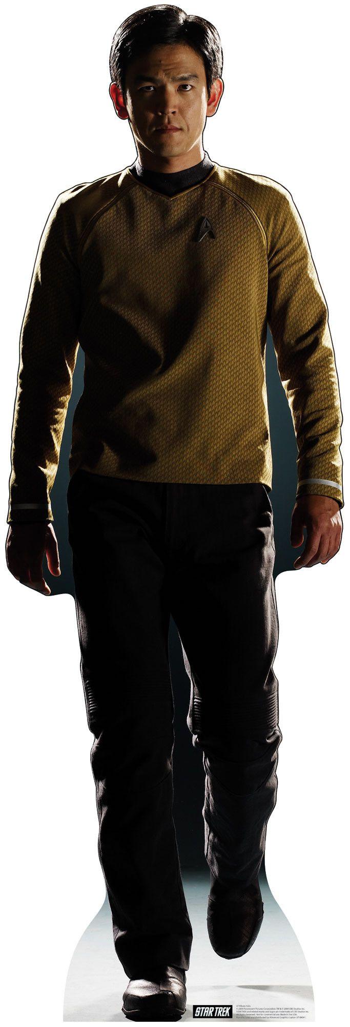 Star Trek Hikaru Sulu Cardboard Stand-Up