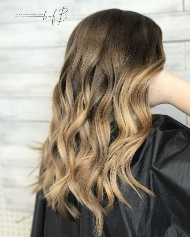 Blonde hair, Balayage, honey Balayage, blonde, pretty hair, balyage, what should I do with my hair next, next hair color, hair color for tan skin, blended hair, dark to blonde hair.