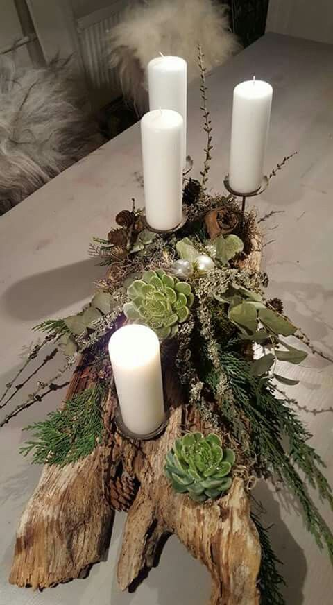 Holiday centerpiece idea