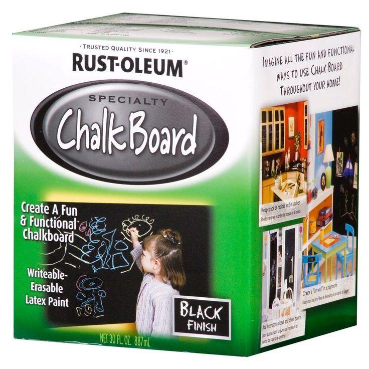 Грифельная краска Chalkboard (черная) 280.00