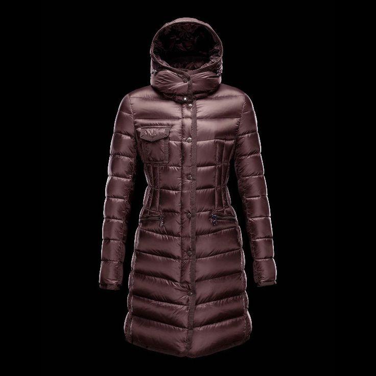 Moncler Coat For Women Claret MC1342