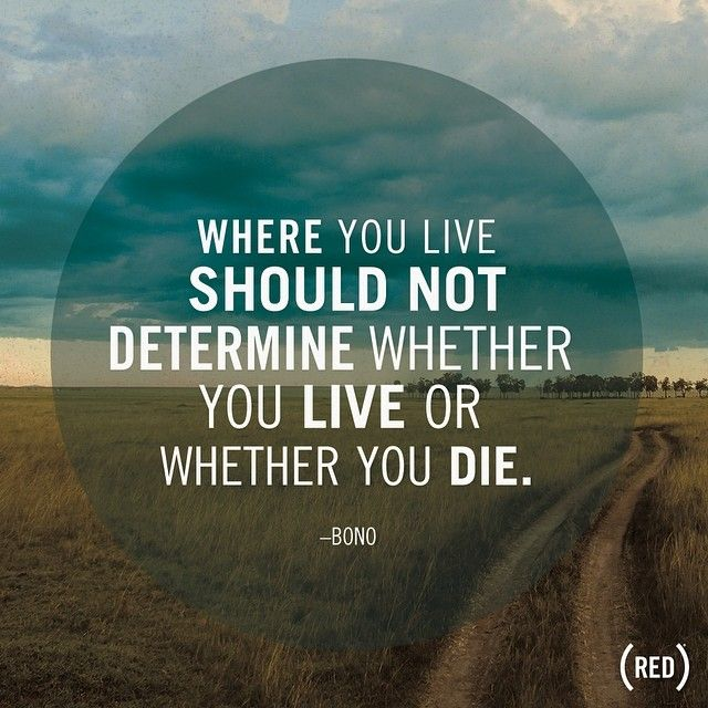 \u0026quot;Where you live should not determine whether you live or