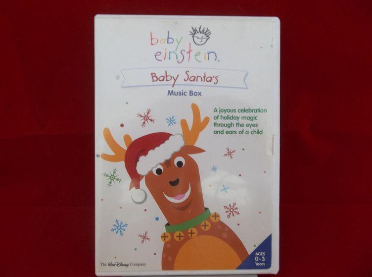 Baby Einstein Baby Santa's Music Box Disney Childhood 0-3 Developmental DVD  #BabyEinstein #DVD #Baby #Santa #Christmas #Music #Development #Childhood #Bonanza