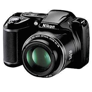 Nikon  Cámara Semiprofesional 16MP / L320 Negra