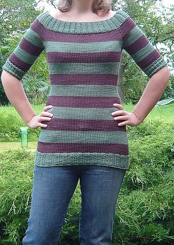 Very cute and free!...totally going to try to use tunisian knit crochet with this sweater...this will be my next big project :)